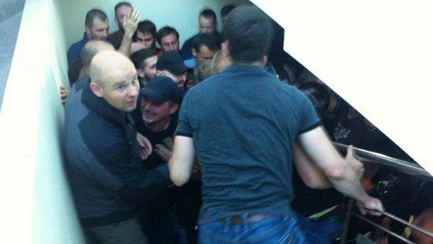 Активісти зірвали з'їзд партії Клименка