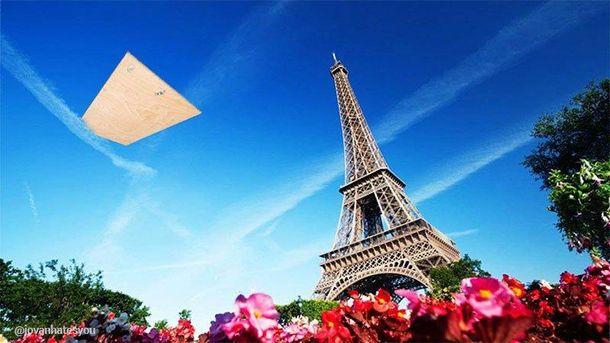 Больше, чем фото: Сборная Украины пролетает над Парижем