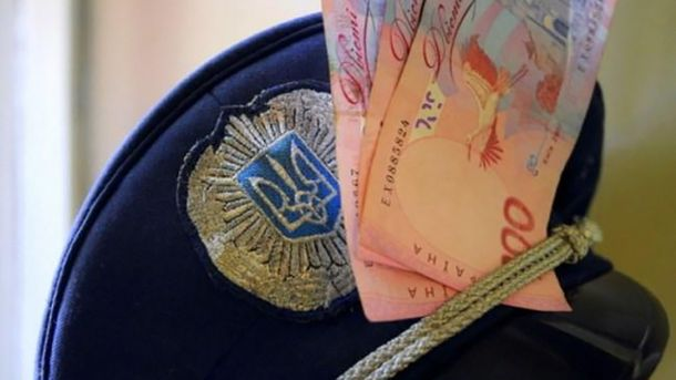 Милиционер требовал 4 тысячи гривен