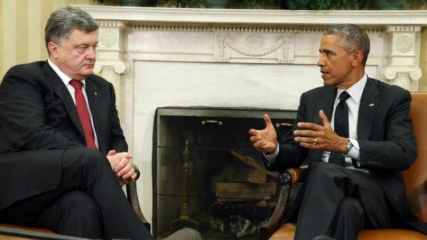 Порошенко встретится с Обамой