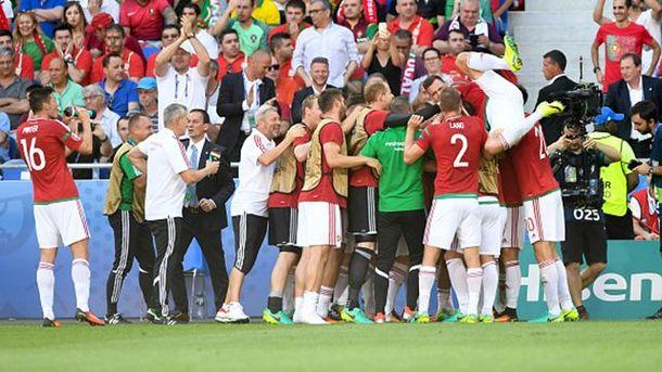 Угорці святкують гол