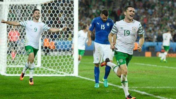 Ірландія на останніх хвилинах вирвала перемогу в Італії