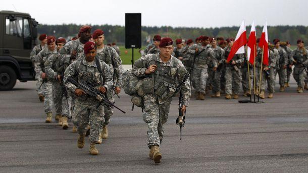 Военные учения НАТО в Польше