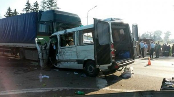 В ДТП в России пострадали 7 украинцев