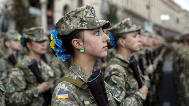В Міноборони розповіли, скільки жінок в українській армії