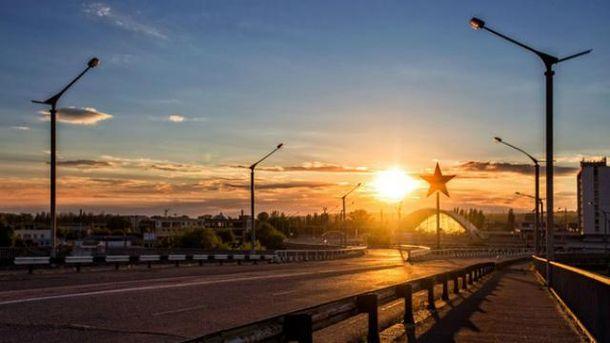 В Луганске невиданная жара