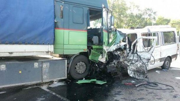 Аварія з українцями під Курськом