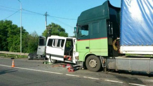В страшной аварии погибли 6 человек