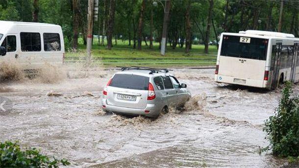Российский город Пермь ушел под воду