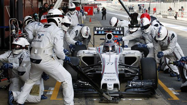 Піт-стоп команди Williams виявився рекордно коротким