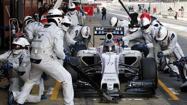 Пит-стоп команды Williams оказался рекордно коротким