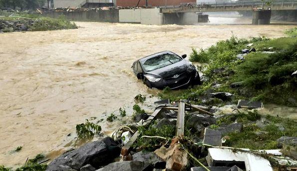 Последствия наводнения в США