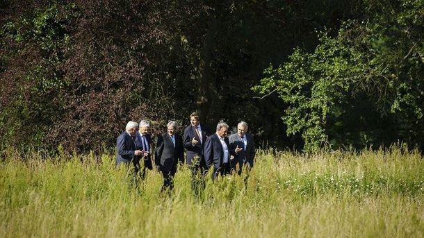 Зустріч міністрів країн-засновниць ЄС