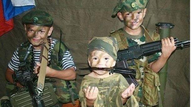 На Росії навіть з дітей готують терористів