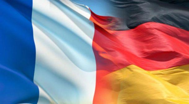 Прапори Франції та Німеччини