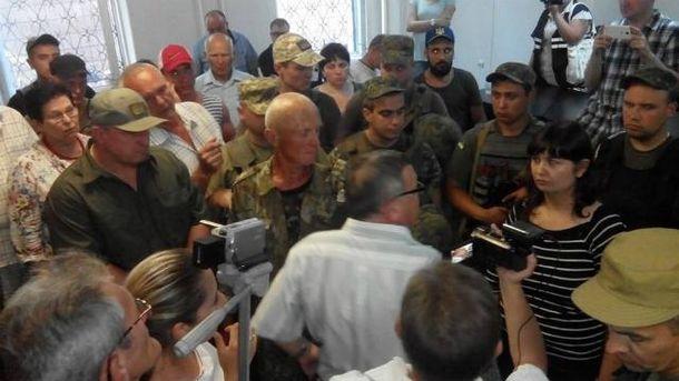 В Приморском суде Мариуполя сегодня было неспокойно