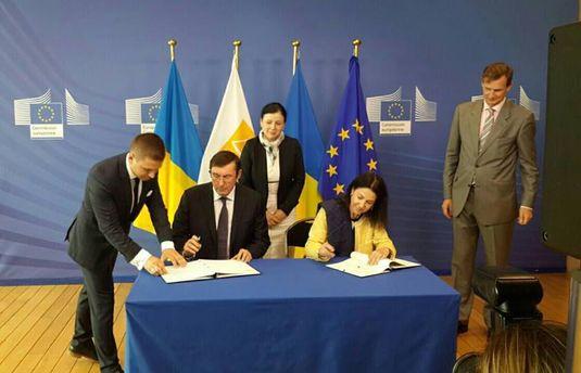 Подписание соглашения с Евроюстом