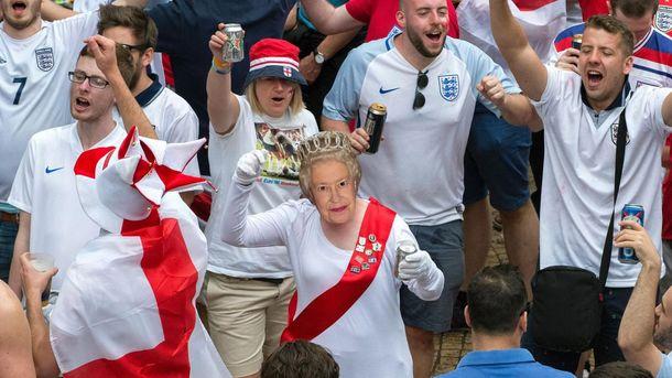 Англія вилетіла з Європи у всіх напрямках