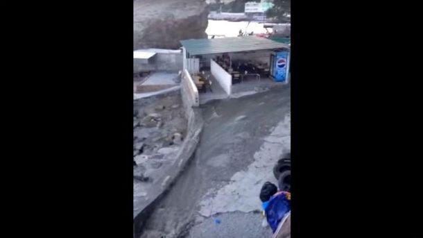 Неприятная ситуация в Алупке