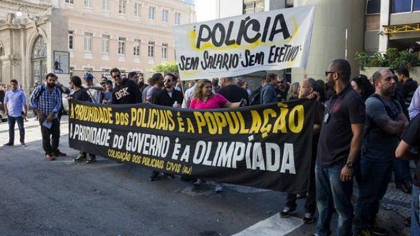 Забастовки полиции в Бразилии