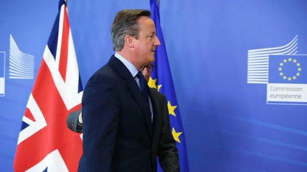 Кемерон оголосив про відставку одразу після референдуму