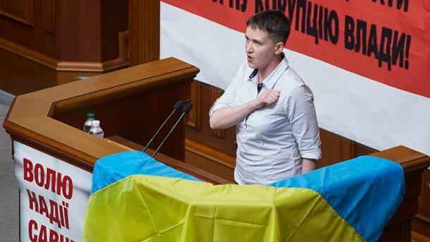Раніше Савченко казала, що не проти стати президентом