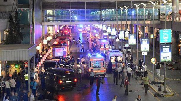 Теракт в Стамбуле