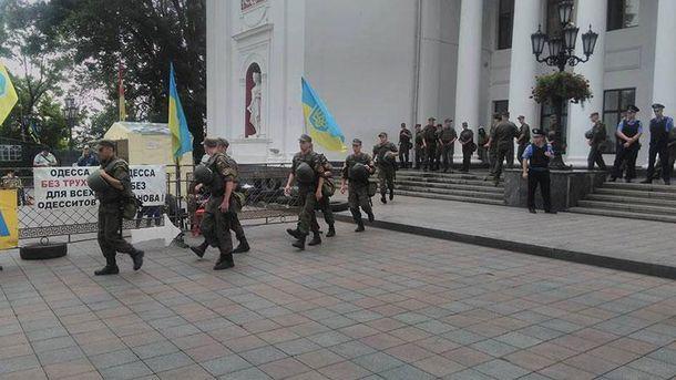 Обыски у горсовета Одессы