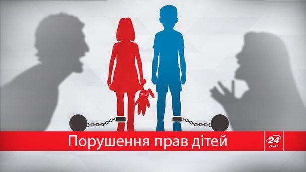 Жестокость к детям не редкость в Украине