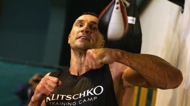Тренировки Кличко не менее зрелищные, чем бои