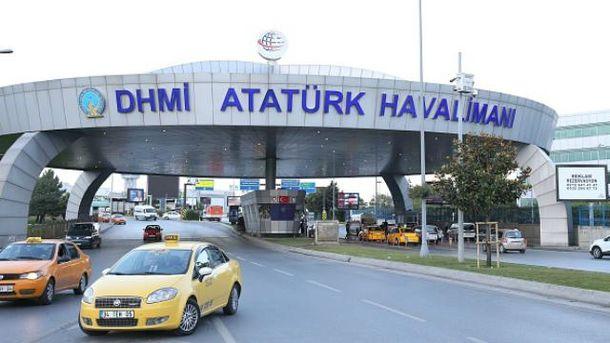 Трое террористов приехали в аэропорт на такси