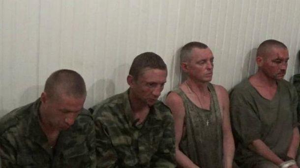 Террористы признались, что у них был приказ стрелять в украинских военных