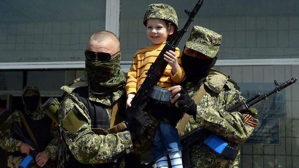 Террористы используют детей в качестве