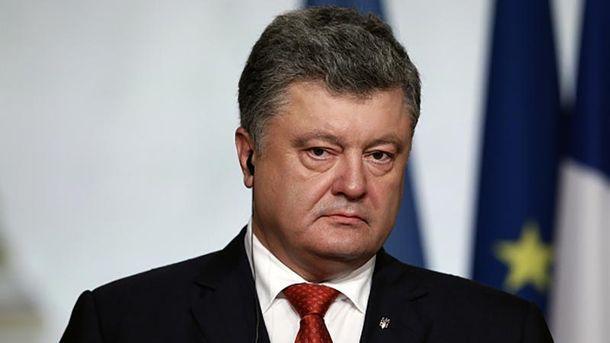Порошенко рассказал, сколько выпускников Академии внутренних дел погибли на Донбассе