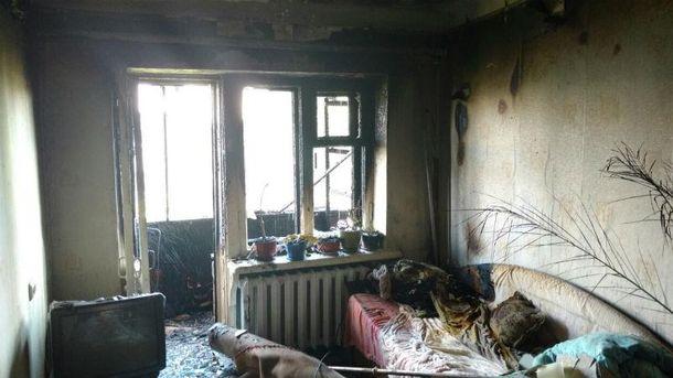 Причини пожежі встановлюють