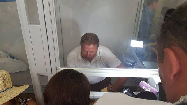 Валентин Лихолит в Печерском суде