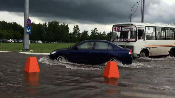 Потоп в Новосибирске