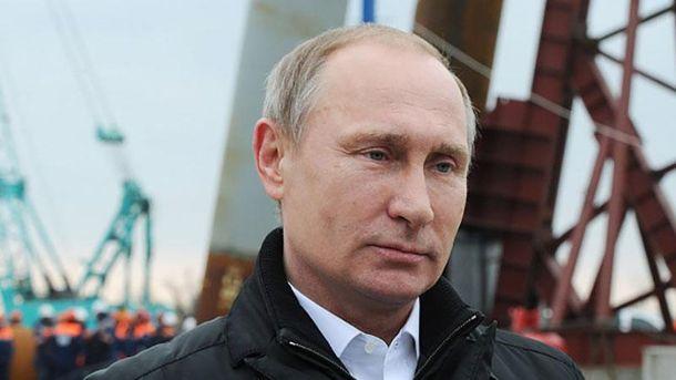 Путін на будівництві Керченського моста