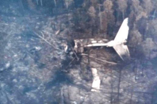 Фото з місця катастрофи