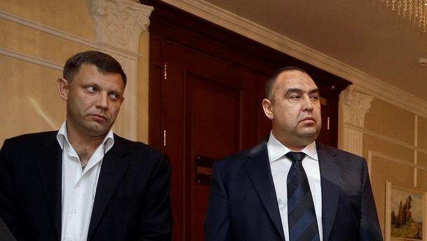 Лидеры ЛДНР Захарченко и Плотницкий