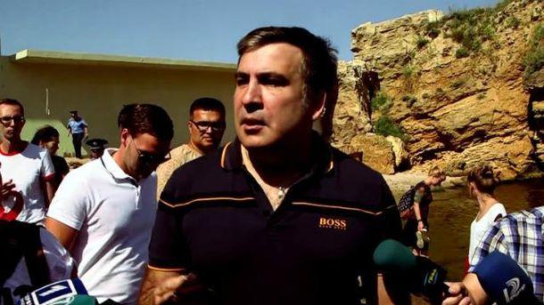 Саакашвили снова освобождает доступ к одесским пляжам