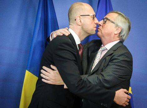 Яценюк и Юнкер