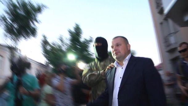 Андрій Боровик під час затримання