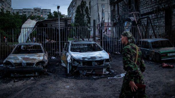 Терористи полюбляють обстрілювати мирних жителів Луганська