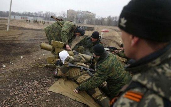 Бойовики стріляють по позиціях сил АТО