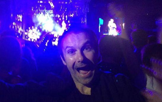 Святослав Вакарчук на концерте Red Hot Chili Peppers