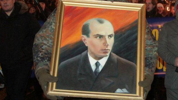 Портрет Степана Бандери