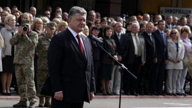 На жоден публічний захід Порошенко не приходить без охорони
