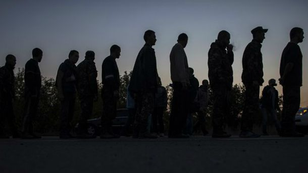 У полоні бойовиків залишається більше сотні українців