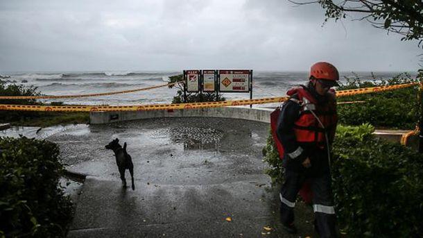 Тайфун на Тайвані
